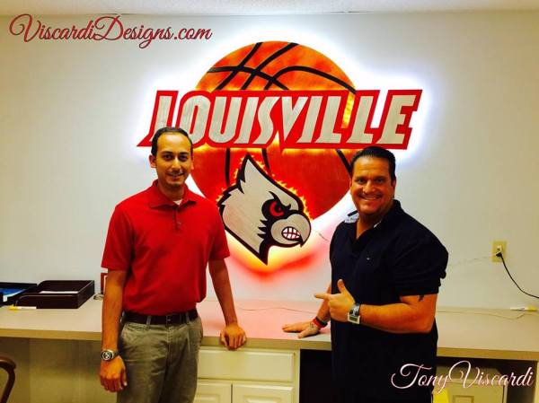 louisville basketball sign,louisville basketball led sign