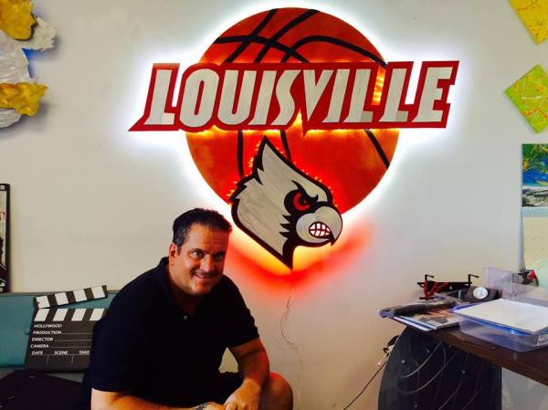 led louisville cardinals basketball