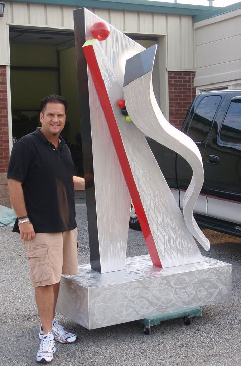 outdoor sculpture in brushed aluminum outdoor sculpture as well as contemporary metal outdoor sculptures