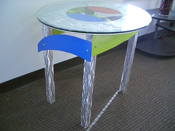 end table by designer Tony Viscardi