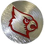 Louisville Cardinals licensed art and sculptures