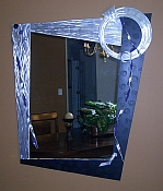 large oversized Mirror, abstract mirror