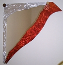 contemporay abstract art mirror, artist mirror, art mirrors, artist mirrors