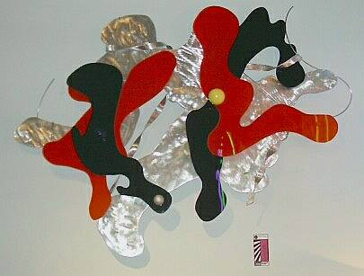 abstract wall art and contemporary wall sculpture