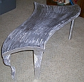 furniture art, art table and contemporary art table in abstract table design and aluminum and metal