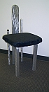 metal dining chair, art chair dining